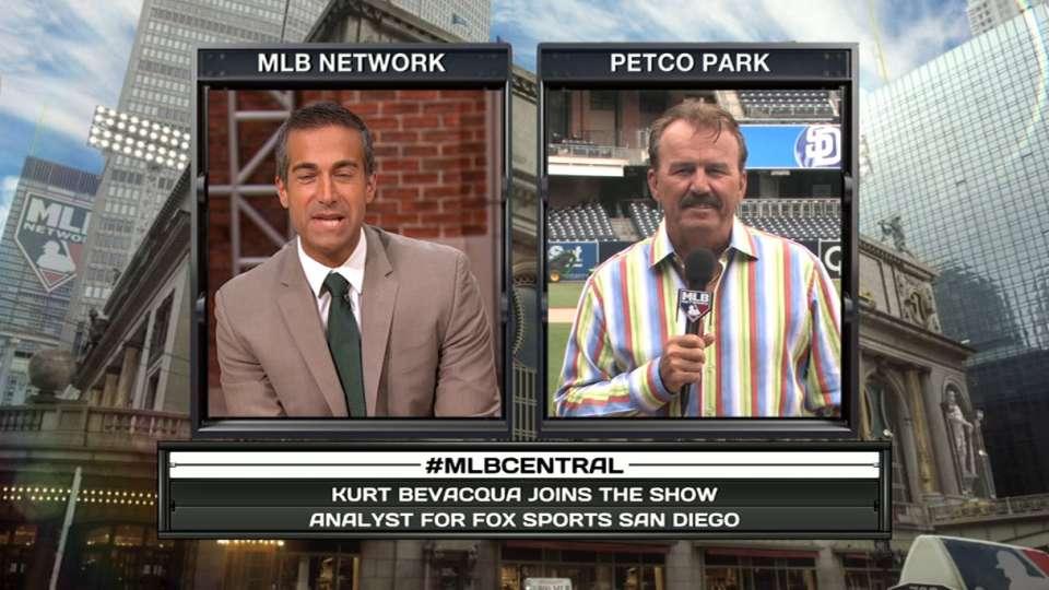 Kurt Bevacqua on MLB Central