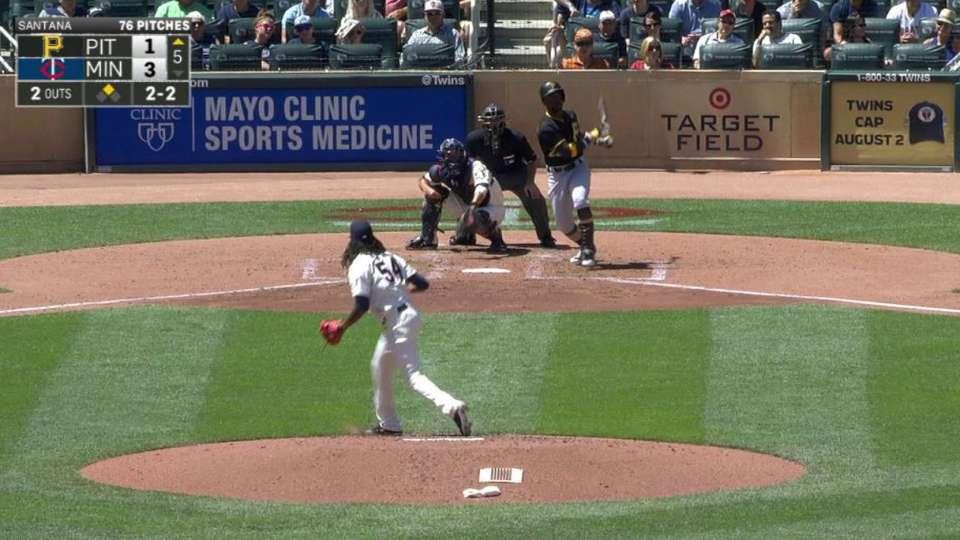 Cutch's two-run home run
