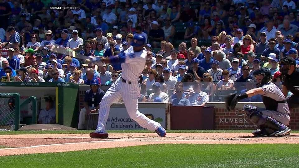 Fowler's solo home run