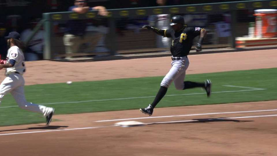 Polanco leaves game