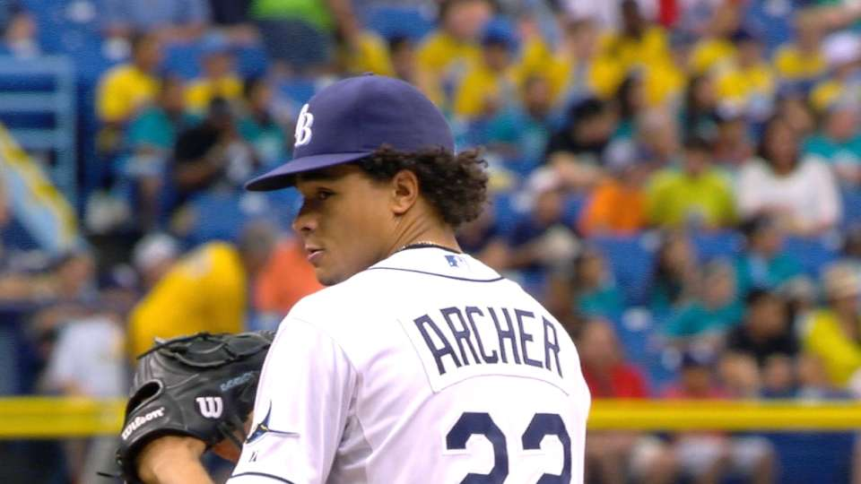 Archer flirts with perfect game