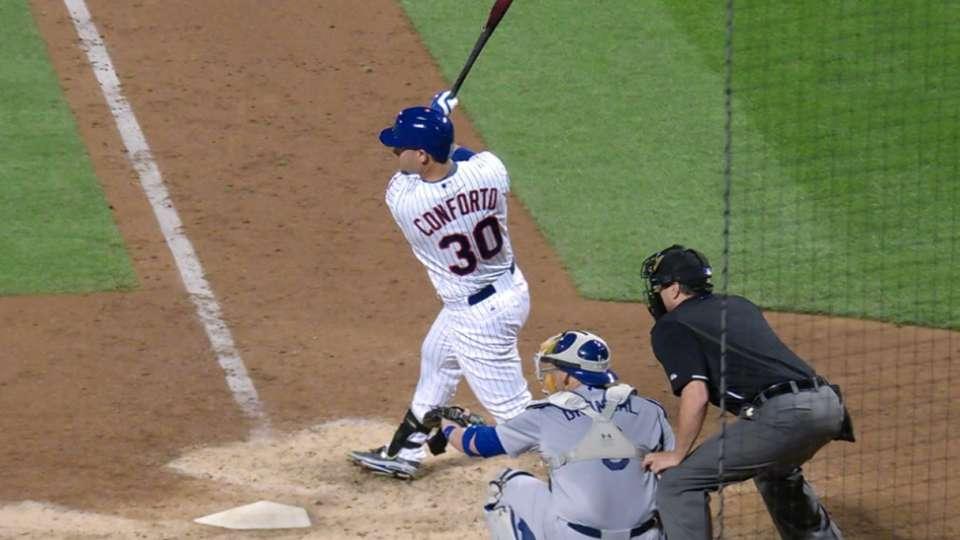 Conforto strengthens Mets lineup