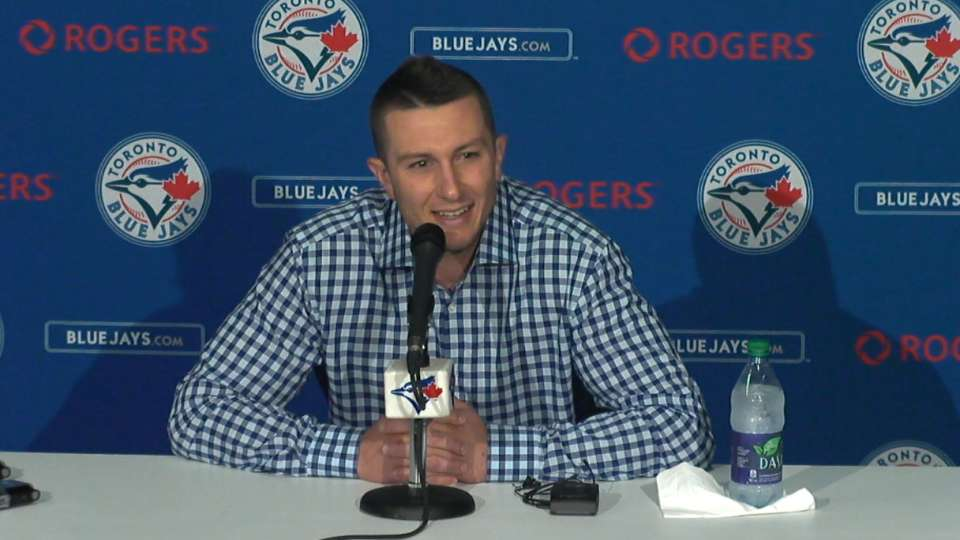 Tulo on becoming a Blue Jay