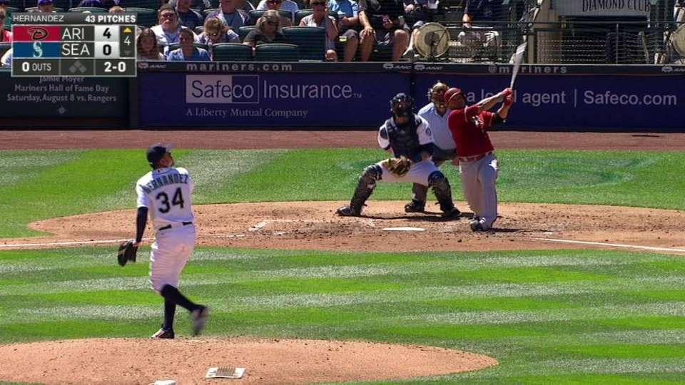 Castillo's second homer