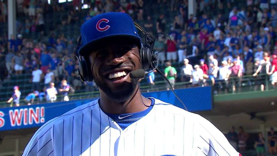 Fowler on Cubs' win vs. Rockies