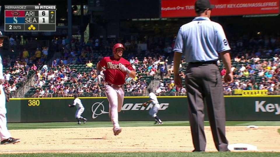 Peralta's two-run triple