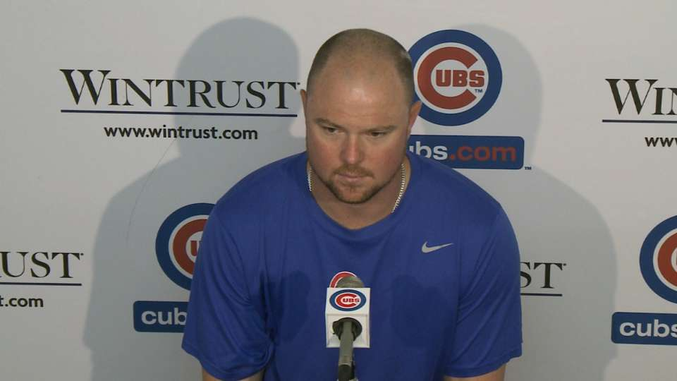 Lester on his strong outing