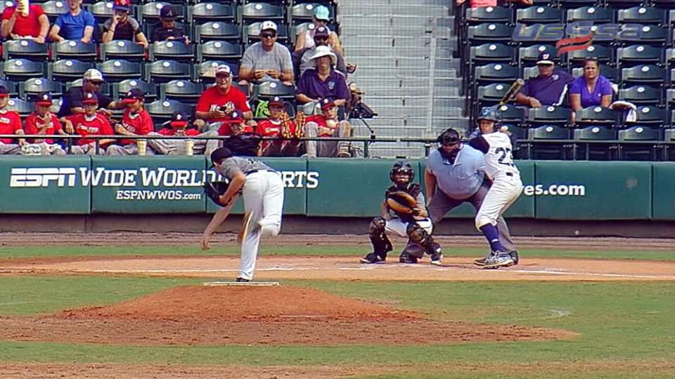 Hagerty's third strikeout