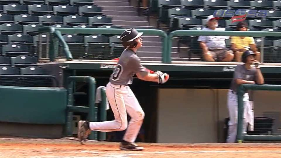 Cunningham's three-run homer