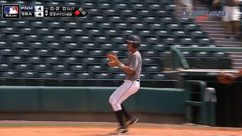 Canes win on wild pitch