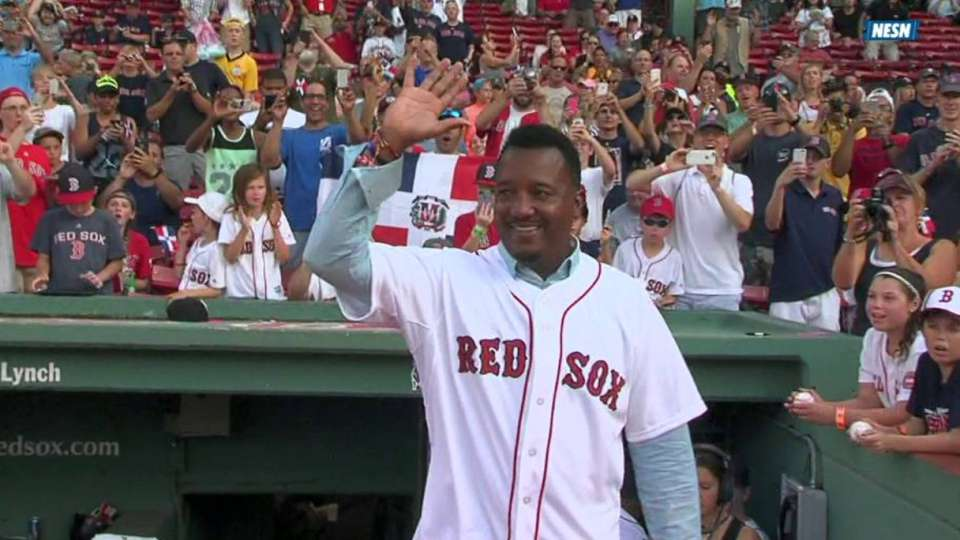 Pedro honored again at Fenway
