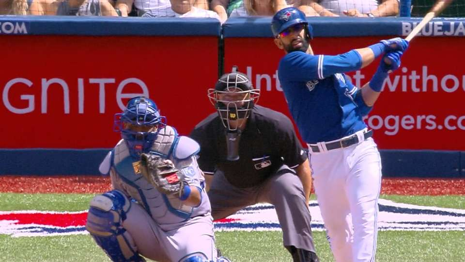 Bautista's two homers