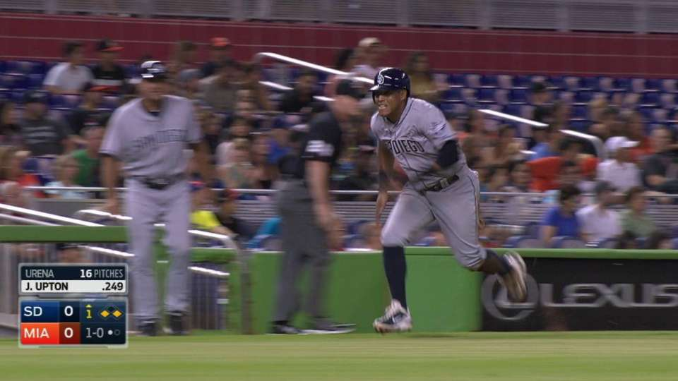 J. Upton's sacrifice fly