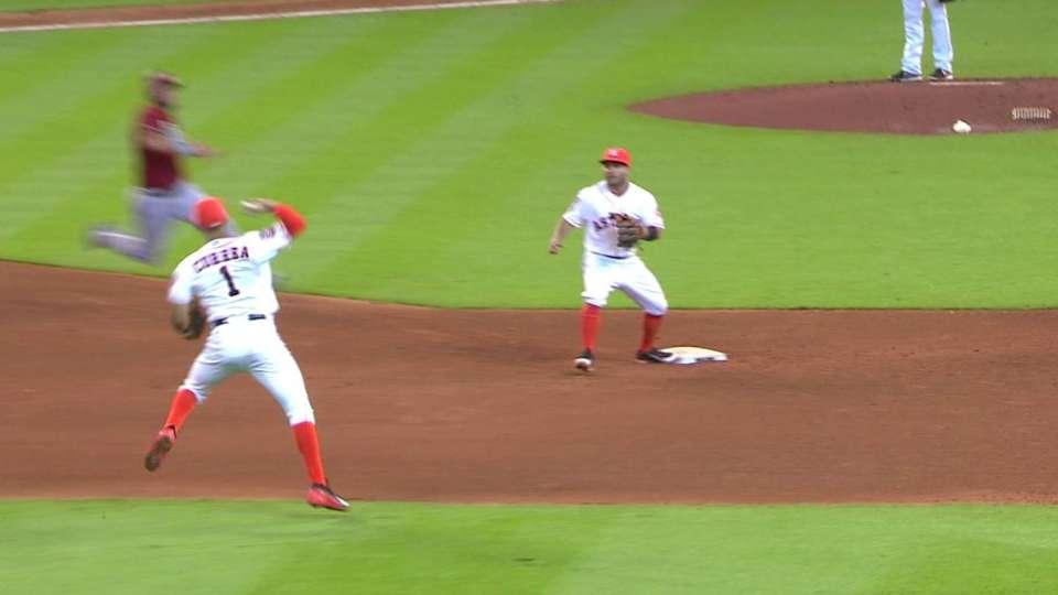 Correa's tough play