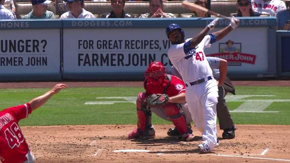 Kendrick's two-run homer