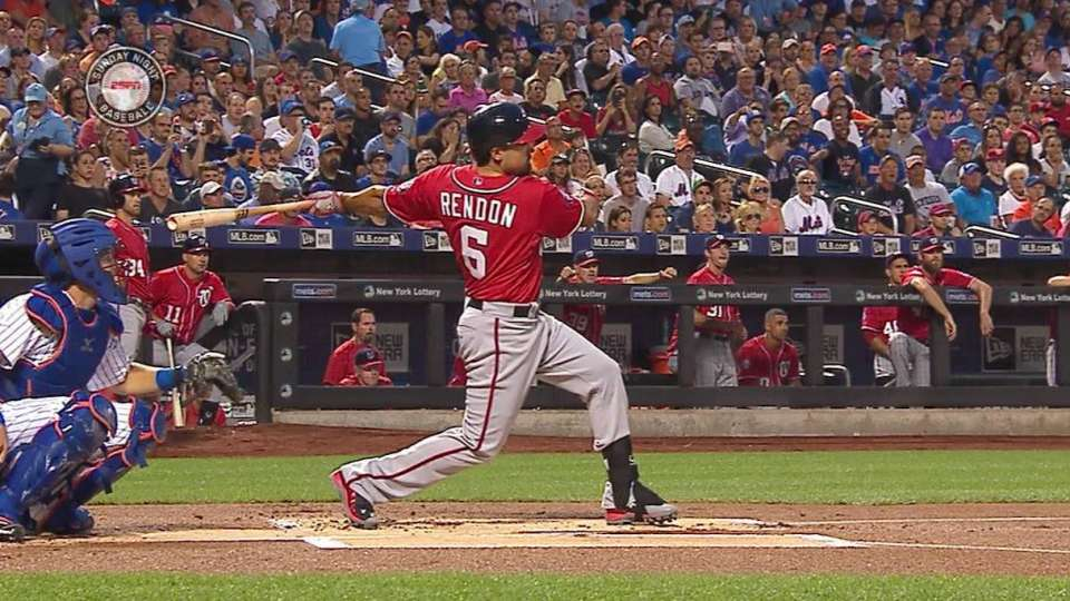 Rendon homers after review