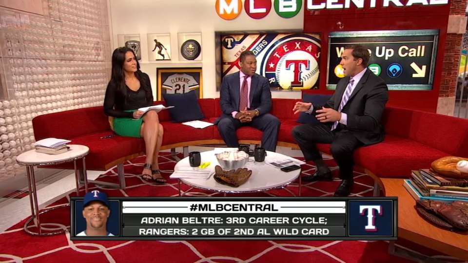 MLB Central on Beltre's cycle