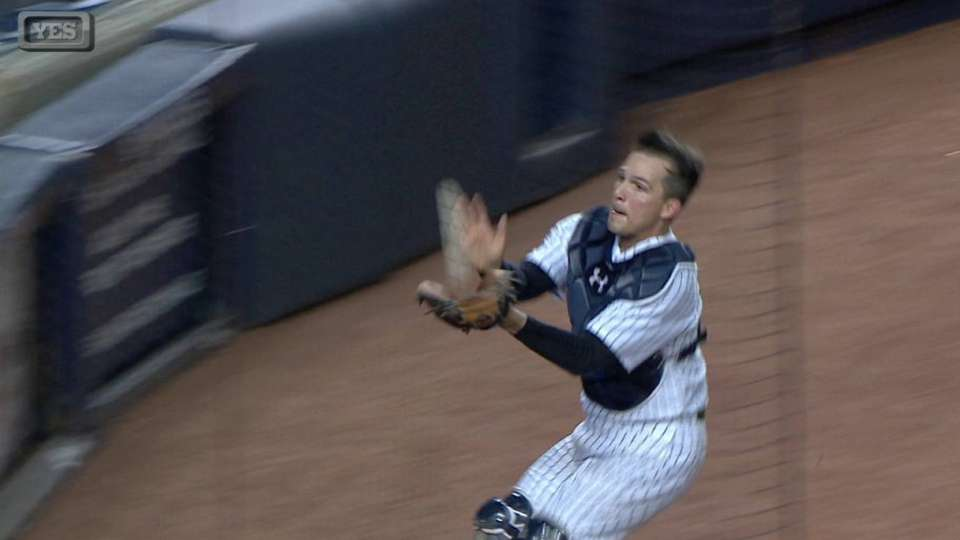 Murphy's great catch