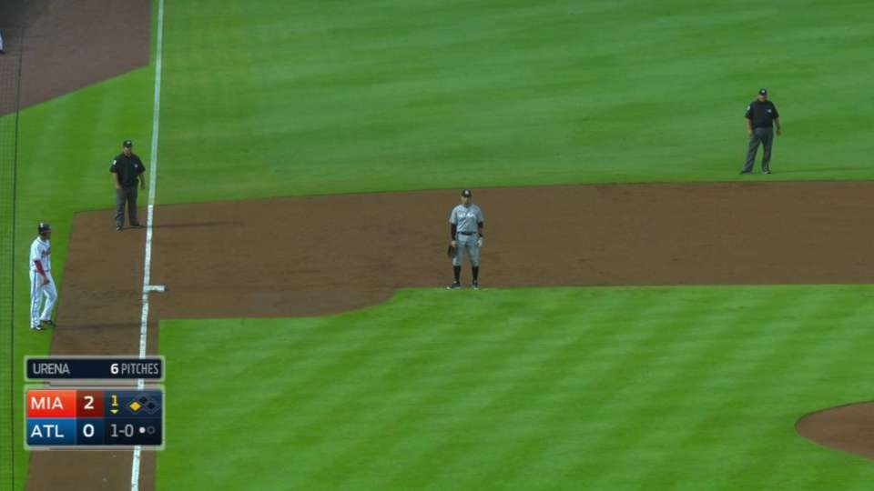 Umpires employ the shift