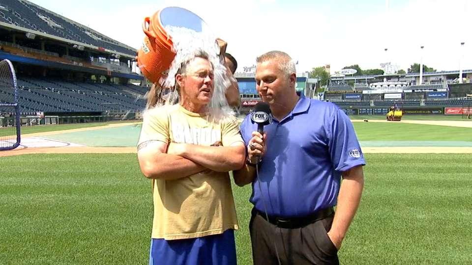 Royals take Ice Bucket Challenge