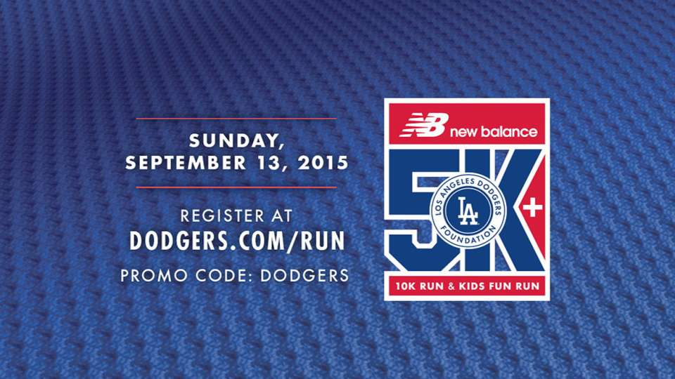 Dodgers to host 5K and 10K Run