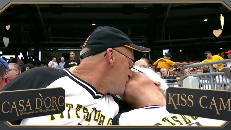 Kiss Cam at PNC Park