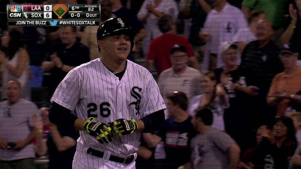 A. Garcia's three-run homer