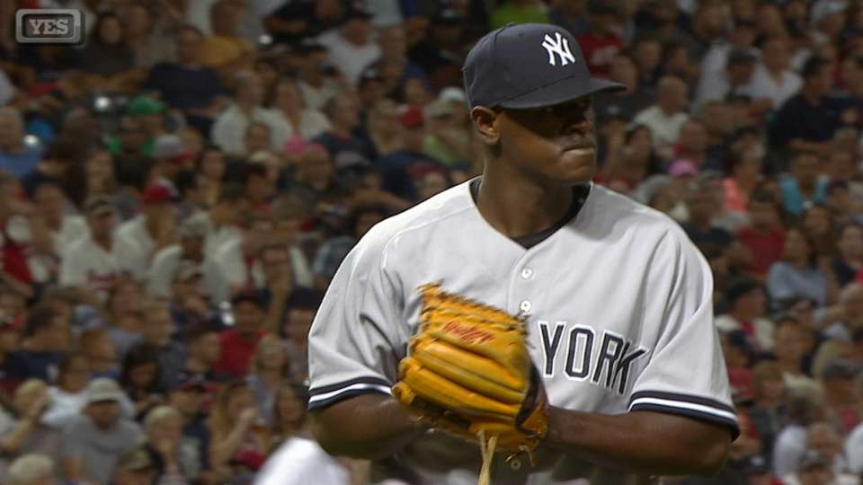 Severino holds Tribe to two runs
