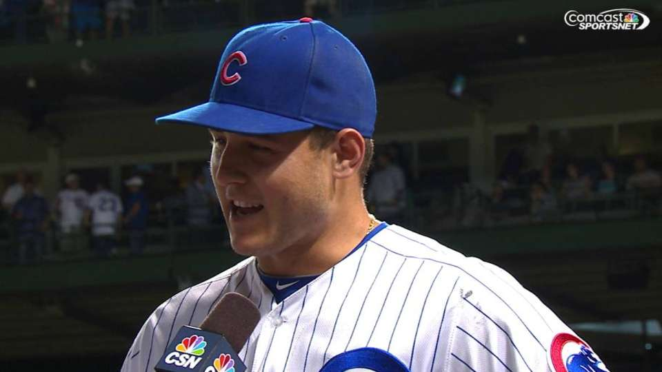 Rizzo on Cubs offense, win