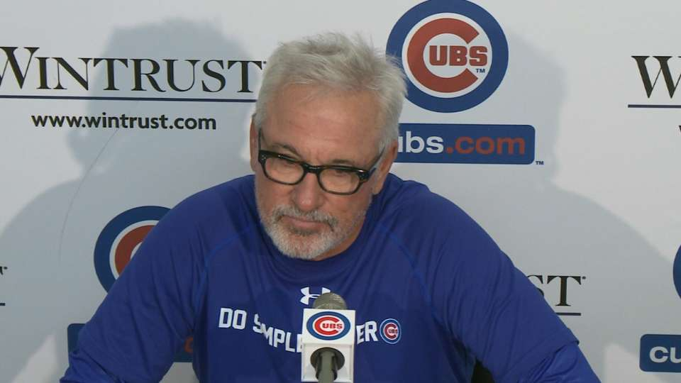 Maddon on Haren, Cubs' win