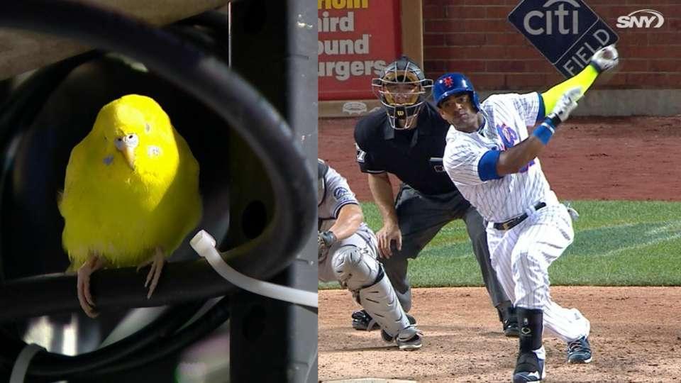 Cespedes' first Mets homer