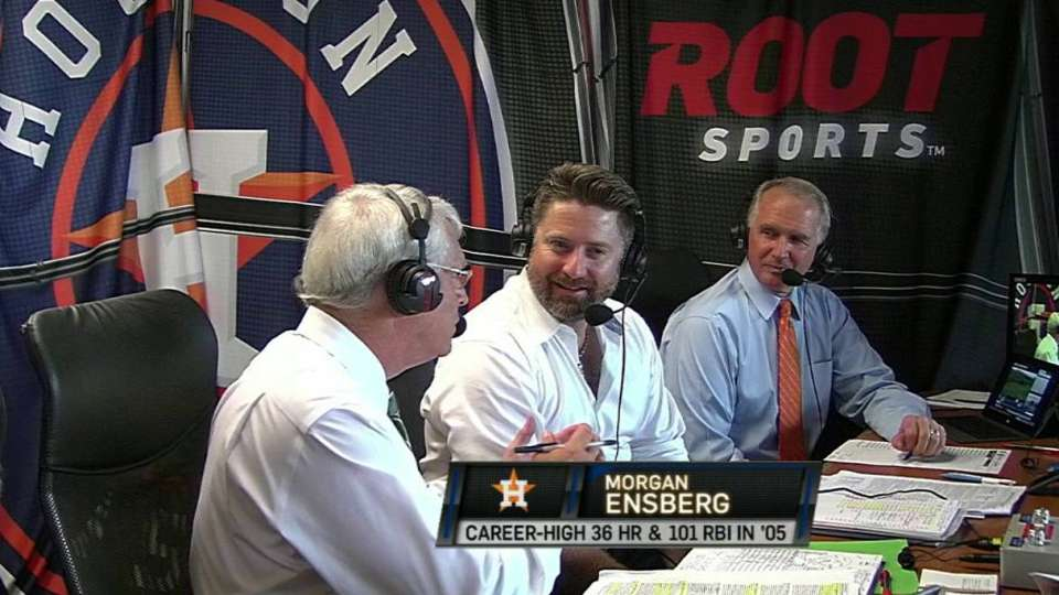 Ensberg joins the booth