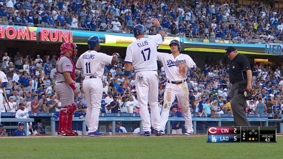 Dodgers playing Hernandez as Pederson slumps | Los Angeles Dodgers