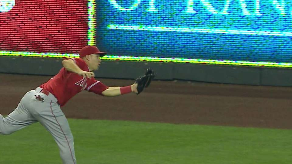 Trout's game-saving catch