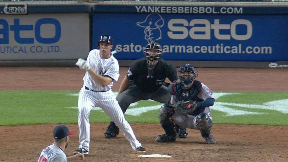 Bird's first hit at home