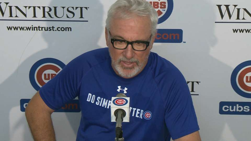 Maddon on win over Braves