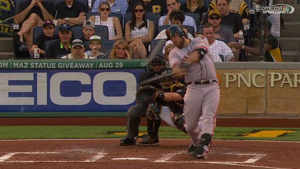 Bumgarner's two-run smash
