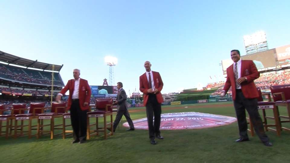 2015 Angels Hall of Fame