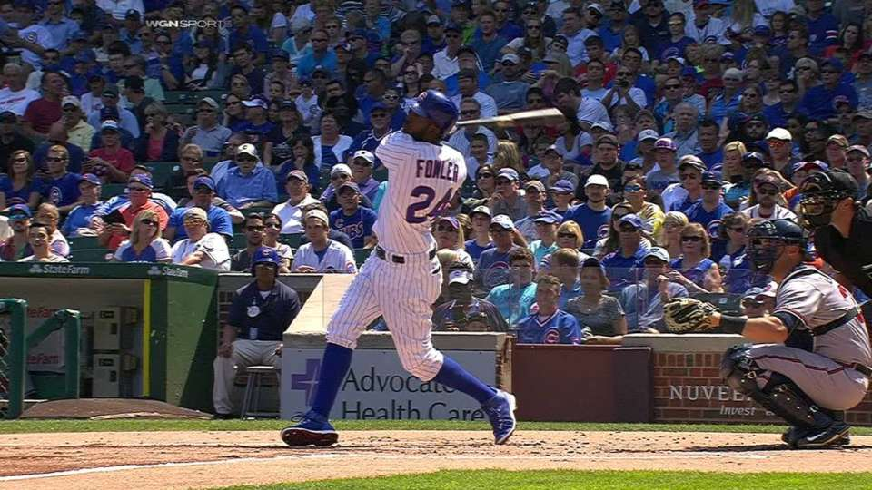 Fowler's solo homer