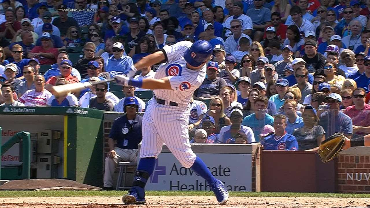 bc80d79c7dd Cubs homer five times to sweep Braves