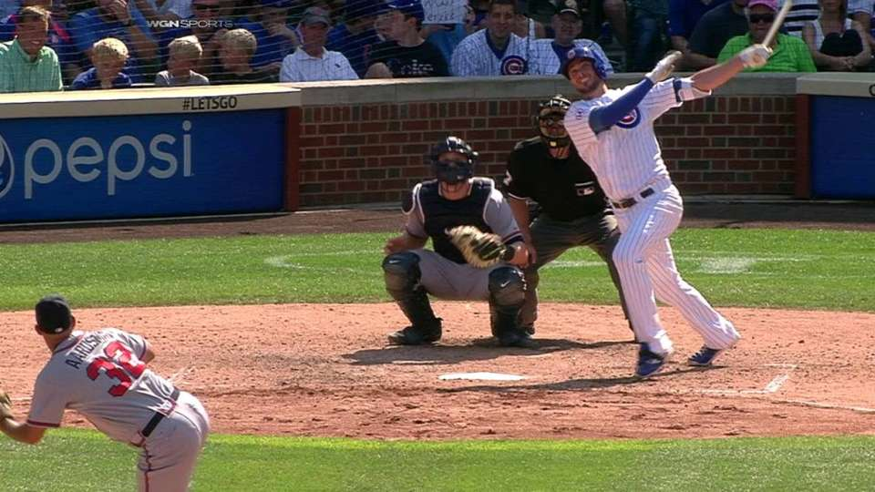 Bryant's second homer of day
