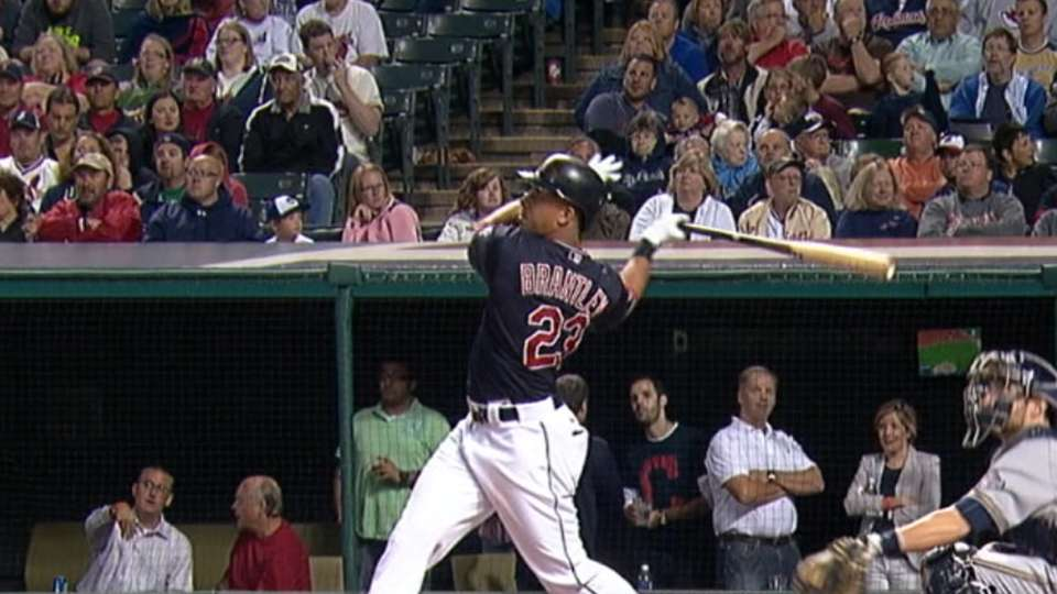 Brantley's two-homer game