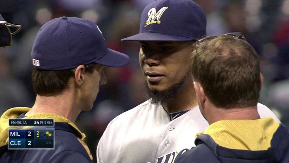 Counsell checks on Peralta
