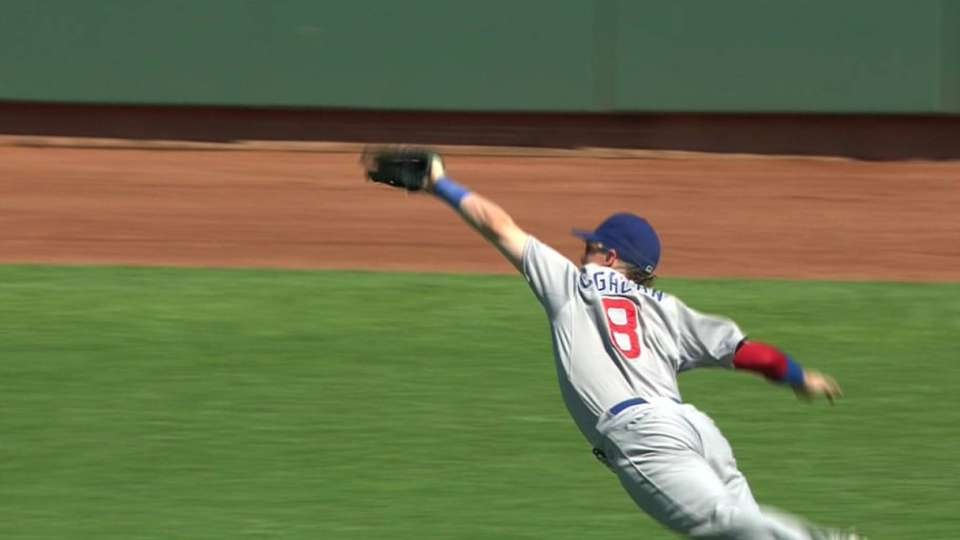 Coghlan's diving grab