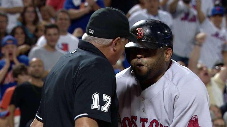 Sandoval gets ejected
