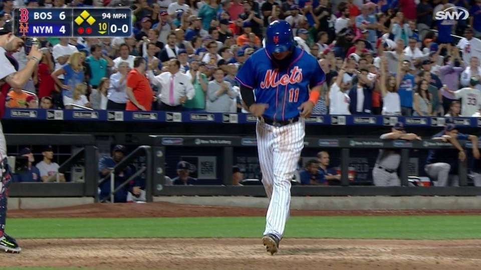 Granderson's bases-loaded walk