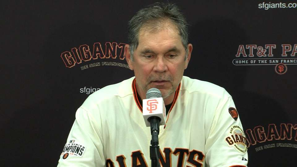 Bochy on loss to Cardinals