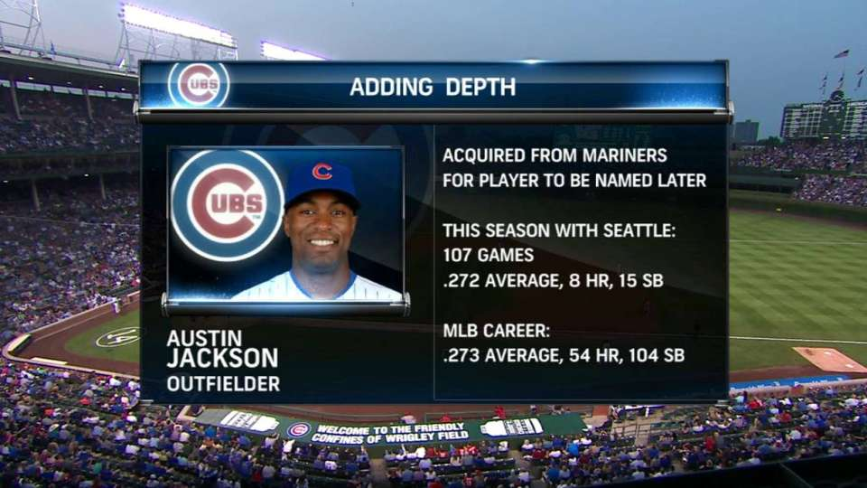 Cubs TV on Jackson trade