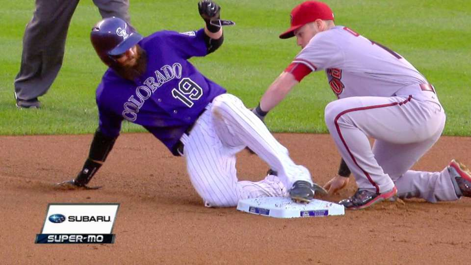 Blackmon gets steal on review
