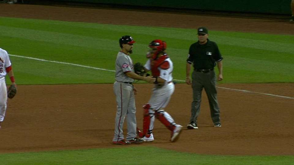 Molina tags out Rendon